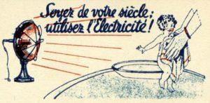 Histoire électricité : Electricité Paris
